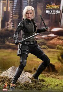 Hot Toys de Viuda Negra en los Vengadores Infinity War - Los mejores Hot Toys de Black Widow - Figuras coleccionables de la Viuda Negra