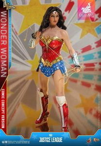 Hot Toys de Wonder Woman en la Liga de la Justicia - Los mejores Hot Toys de Wonder Woman - Figuras coleccionables de Wonderwoman