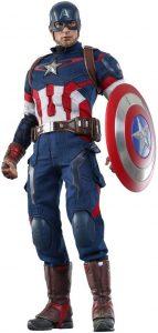 Hot Toys del Capitán América de los Vengadores la era de Ultron - Los mejores Hot Toys del Capitán América - Figuras coleccionables del Capitán América