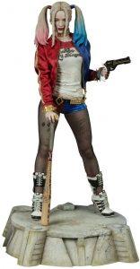 Sideshow Figura Hot Toys de Harley Quinn de Escuadron Suicida - Los mejores Hot Toys de Harley Quinn - Figuras coleccionables de Harley Quinn