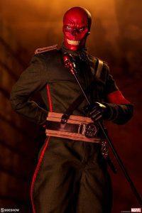 Sideshow de Cráneo Rojo - Los mejores Hot Toys del Capitán América - Figuras coleccionables del Capitán América
