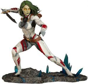 Sideshow de Hot Toys de Gamora de Guardianes de la Galaxia Volumen 1 - Los mejores Hot Toys de Gamora - Figuras coleccionables de Guardianes de la Galaxia
