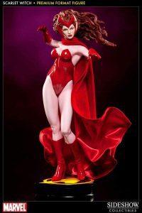 Sideshow de Hot Toys de la Bruja Escarlata de los cómics - Los mejores Hot Toys de la Bruja Escarlata - Figuras coleccionables de Scarlet Witch