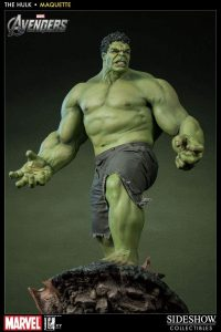 Sideshow de Hulk en Vengadores - Los mejores Hot Toys de Hulk - Figuras coleccionables de Hulk