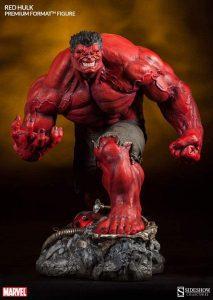 Sideshow de Red Hulk - Los mejores Hot Toys de Hulk - Figuras coleccionables de Hulk