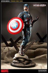 Sideshow del Capitán América el Primer Vengador - Los mejores Hot Toys del Capitán América - Figuras coleccionables del Capitán América