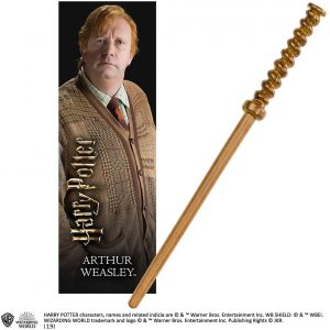 Comprar Varita barata de Arthur Weasley de Harry Potter de The Noble Collection - Comprar varitas de Harry Potter