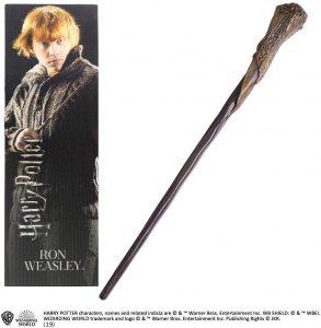 Comprar Varita barata de Ron Weasley de Harry Potter de The Noble Collection - Comprar varitas de Harry Potter