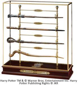 Comprar Varita de las cuatro varitas de los participantes al torneo de los Tres Magos de Harry Potter