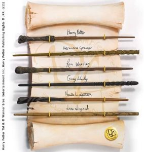 Comprar Varita del Ejército de Dumbledore - Harry Potter, Hermione Granger, Ron Weasley, Ginny Weasley, Neville Paciok y Luna Lovegood