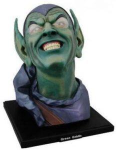 Figura Diamond de Busto del Duende Verde - Las mejores figuras Diamond de Green Goblin - Figuras coleccionables de villanos de Spiderman