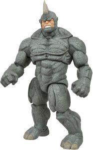 Figura Diamond de Rhino - Las mejores figuras Diamond de Rhino - Figuras coleccionables de villanos de Spiderman