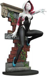 Figura Diamond de Spider Gwen con capucha - Las mejores figuras Diamond de Spider Gwen - Figuras coleccionables de Spider-Gwen