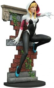 Figura Diamond de Spider Gwen sin máscara - Las mejores figuras Diamond de Spider Gwen - Figuras coleccionables de Spider-Gwen