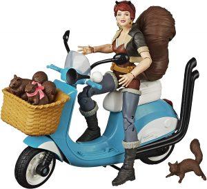 Figura Diamond de Squirrel Girl en moto - Las mejores figuras Diamond de Squirrel Girl - Figuras coleccionables de Squirrel Girl