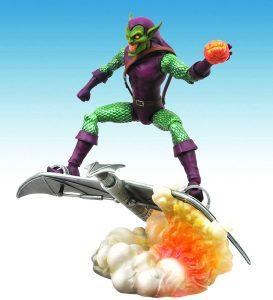 Figura Diamond del Duende Verde Comic - Las mejores figuras Diamond de Green Goblin - Figuras coleccionables de villanos de Spiderman
