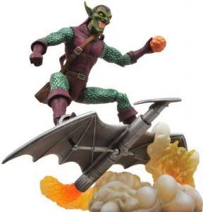 Figura Diamond del Duende Verde Select - Las mejores figuras Diamond de Green Goblin - Figuras coleccionables de villanos de Spiderman