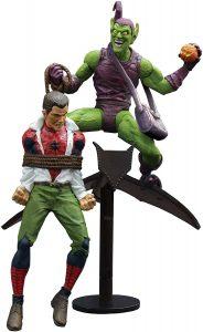 Figura Diamond del Duende Verde vs Spiderman - Las mejores figuras Diamond de Green Goblin - Figuras coleccionables de villanos de Spiderman