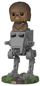 Figura Funko POP de Chewbacca en AT-ST