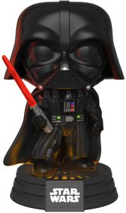 Figura Funko POP de Darth Vader con sable láser