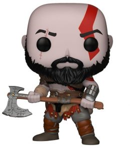 Figura Funko POP de Kratos en God of War 4