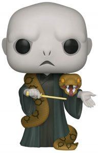 Figura Funko POP de Lord Voldemort de 25 centímetros con Nagini de Harry Potter