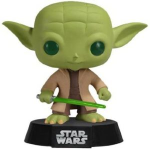Figura Funko POP de Yoda clásico