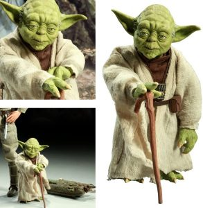 Figura Sideshow de Yoda - Figuras coleccionables de Yoda de Star Wars
