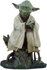 Figura Sideshow de Yoda clásico - Figuras coleccionables de Yoda de Star Wars