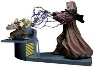 Figura Sideshow de Yoda vs Palpatine - Figuras coleccionables de Yoda de Star Wars