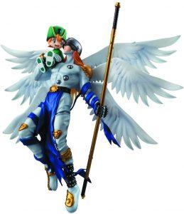 Figura de Angemon y Takeru de Digimon de Megahouse - Figuras coleccionables de Digimon