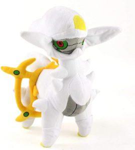 Figura de Arceus de Peluche - Figuras coleccionables de Arceus de Pokemon