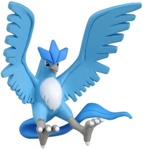 Figura de Articuno de Takara Tomy 2 - Figuras coleccionables de Articuno de Pokemon