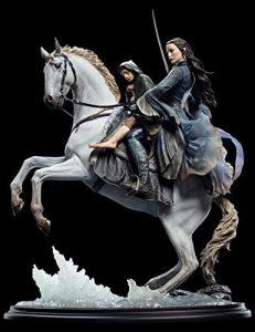 Figura de Arwen & Frodo de Weta Collectibles - Figuras coleccionables de Arwen & Frodo del Señor de los anillos