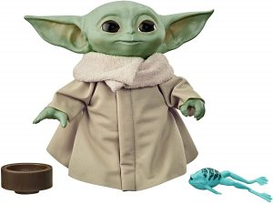 Figura de Baby Yoda de The Mandalorian de Hasbro - Figuras coleccionables de Baby Yoda de Star Wars