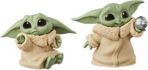 Figura de Baby Yoda de The Mandalorian de Hasbro de Mini Pack de 2 figuras - Figuras coleccionables de Baby Yoda de Star Wars