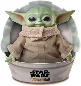 Figura de Baby Yoda de The Mandalorian de Mattel - Figuras coleccionables de Baby Yoda de Star Wars