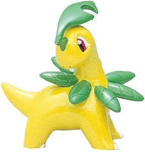Figura de Bayleef de Takara Tomy - Figuras coleccionables de Chikorita de Pokemon