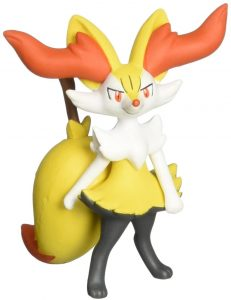 Figura de Braixen de Takara Tomy - Figuras coleccionables de Braixen de Pokemon