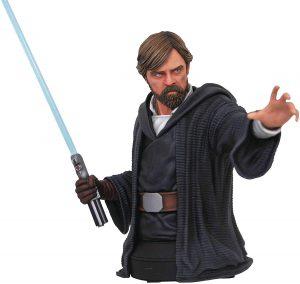 Figura de Busto de Luke Skywalker de Diamond - Figuras coleccionables de Luke Skywalker de Star Wars