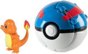 Figura de Charmander con Pokeball de Takara Tomy - Figuras coleccionables de Charizard de Pokemon