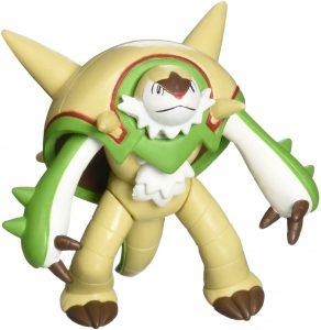 Figura de Chesnaught de Takara Tomy - Figuras coleccionables de Chesnaught de Pokemon