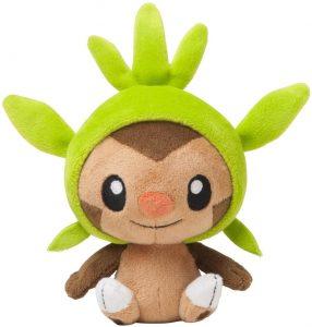 Figura de Chespin de Peluche 2 - Figuras coleccionables de Chespin de Pokemon