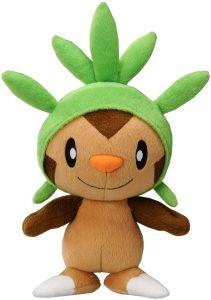 Figura de Chespin de Peluche 3 - Figuras coleccionables de Chespin de Pokemon