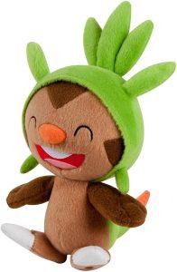 Figura de Chespin de Peluche - Figuras coleccionables de Chespin de Pokemon