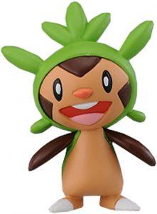 Figura de Chespin de Takara Tomy - Figuras coleccionables de Chespin de Pokemon
