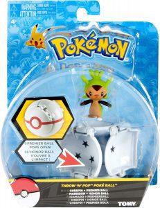 Figura de Chespin de Tomy - Figuras coleccionables de Chespin de Pokemon