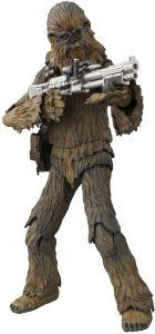 Figura de Chewbacca de Han Solo de Bandai - Figuras coleccionables de Chewbacca de Star Wars