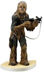 Figura de Chewbacca de Kotobukiya - Figuras coleccionables de Chewbacca de Star Wars