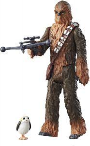 Figura de Chewbacca y Porg de Disney Hasbro - Figuras coleccionables de Chewbacca de Star Wars